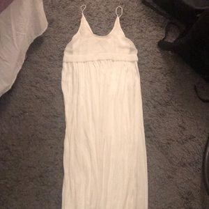White Zara maxi dress